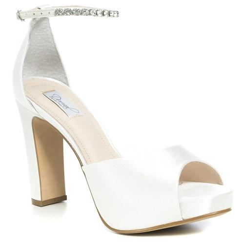 Sandália Noiva New White Duas Pulseiras - 86370