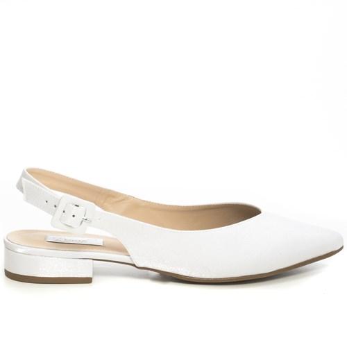 Sapatilha Noiva Cetim Velvet Branco Chanel - 56025