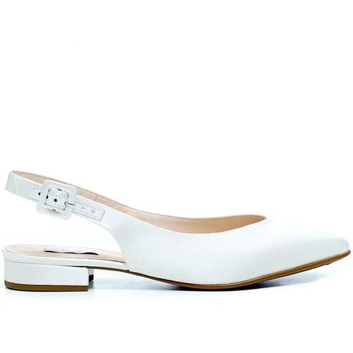 Sapatilha Noiva Chanel Cetim New White - 56025