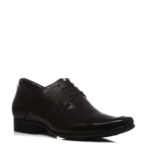 Sapato Masculino Noivo Pelica Preta Cadarço - 19105