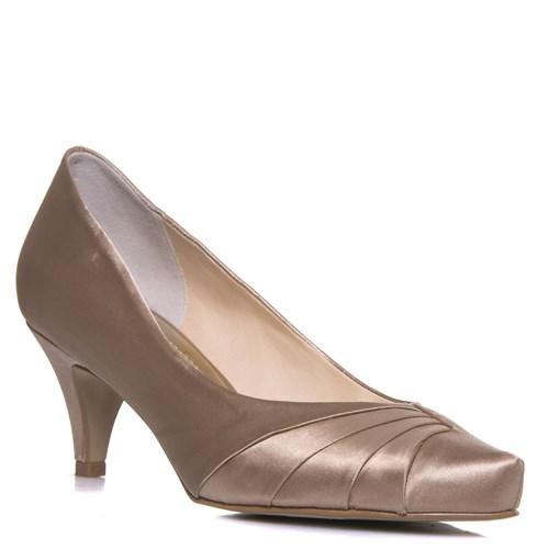 Sapato Scarpin Festa Nude Salto Baixo - 800/305