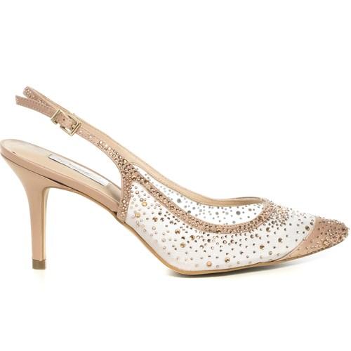 Scarpin Chanel Festa Nude Pontos de Luz - DU52127