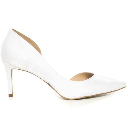 Scarpin Noiva Branco Salto Médio - ST57983